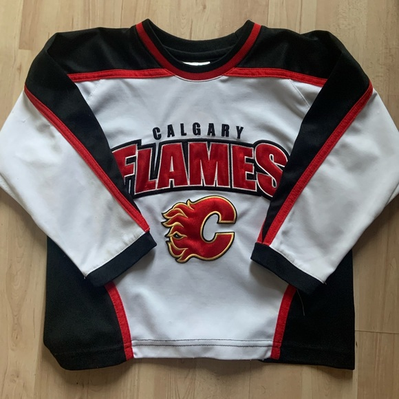 NHL Calgary Flames Jersey size 4